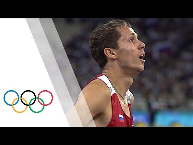 Yuriy Borzakovskiy wins Men's 800m Olympic final | Athens 2004