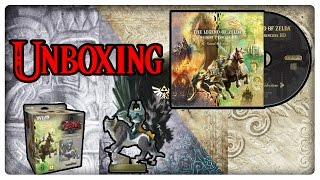 THE LEGEND OF ZELDA TWILIGHT PRINCESS HD LIMITED EDITION Unboxing