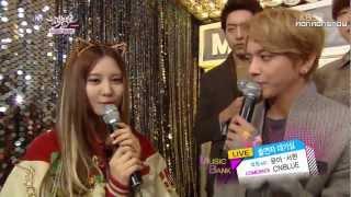 YoonA, SeoHyun (SNSD) & CNBLUE Cut (Jan 18, 2013)