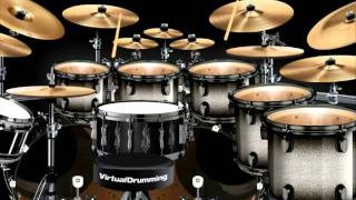 Play virtual drums - Tocar bateria virtual