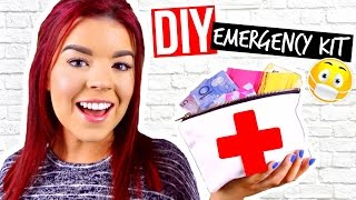 DIY Emergency Kit for School! BACK TO SCHOOL DIY SCHOOL SUPPLIES!