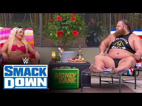 """""""Fast Times"""" for Otis & Mandy Rose with dreamy poolside kiss: SmackDown, May 29, 2020"""