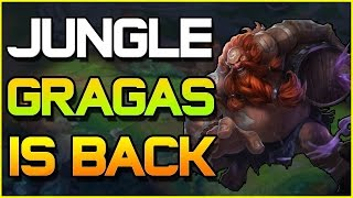 ✔ JUNGLE GRAGAS IS BACK -  Guide & Tips | League of Legends