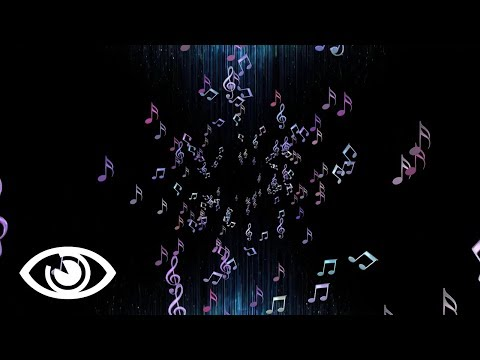 🎥 MUSICAL MUSIC NOTES - Background Animation Overlay Graphics [Free Stock Download No Copyright]