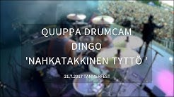 Quuppa (Dingo) Drumcam 'Nahkatakkinen Tyttö' Tammerfest 21.7.2017, Tampere
