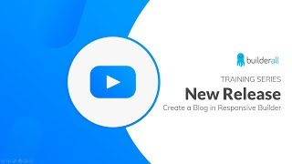 NEW Blog App in the Responsive Builder