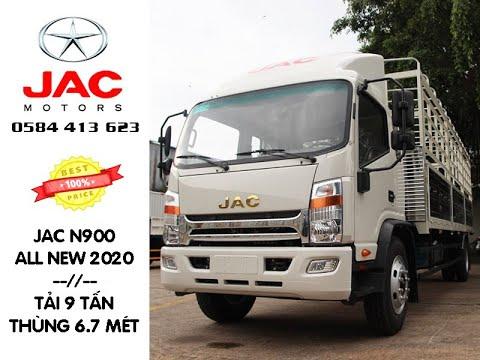 Xe tải Jac N900 9 Tấn Thùng 6,7 Mét| Chi tiết về xe và giá cả xe Jac n900 ra mắt tháng 9/2020