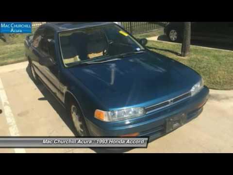 1993 Honda Accord Fort Worth, Ft. Worth, Arlington, Dallas, Irving D09938T