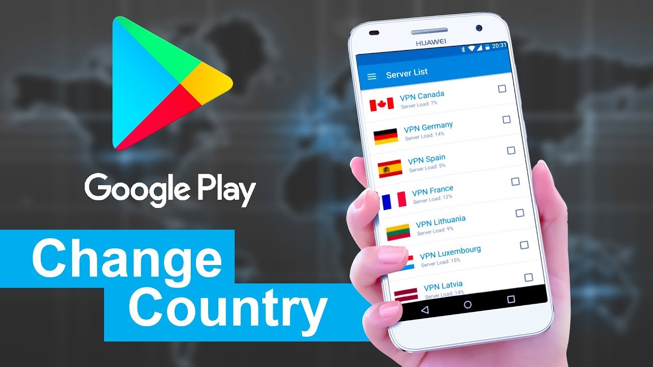 how to change google play store country 2018 no root. Black Bedroom Furniture Sets. Home Design Ideas
