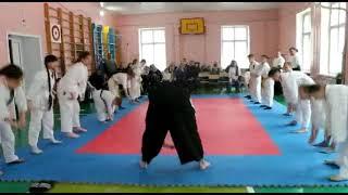 #1 Открытый урок Айкидо, разминка | 合気道 | Aikido