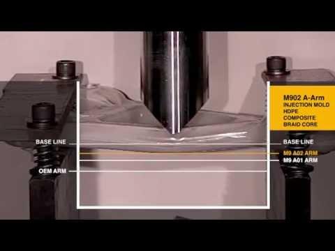 Drop Test: A-Arm OEM vs. M9 Composite