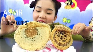ASMR Raw Honey Comb (EXTREME STICKY EATING SOUNDS)MUKBANG
