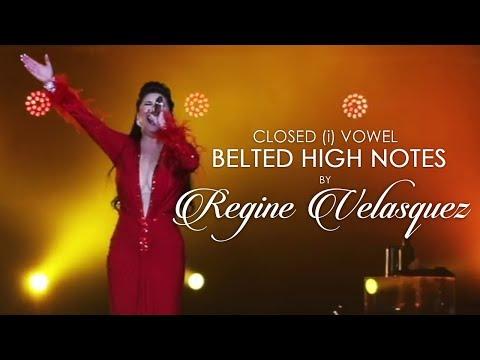 Closed Vowel BELTED HIGH NOTES - Regine Velasquez (Eb5 - G5)