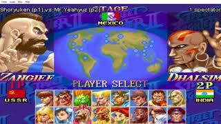 Hyper Street Fighter II FE Online Adventures Episode 1: Intro~