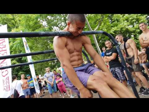 2017.06.03 National Street Workout Qualifications - SOFIA OPEN -  Dimitar Ivanov сет 1 ч.2