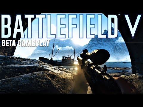 BATTLEFIELD V BETA LIVE|1080p 60fps|COME CHILL :) thumbnail