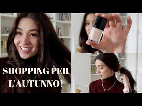 SHOPPING PER L' AUTUNNO! Basic ed elegante!