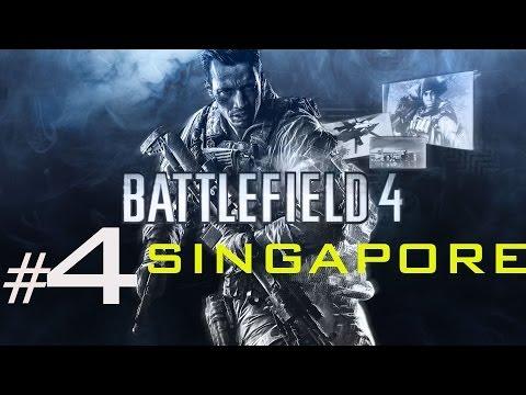 Battlefield 4 walkthrough part 4   SINGAPORE campaign mission 4  full pc