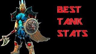 Drakensang Online - Best Tank Stats!?