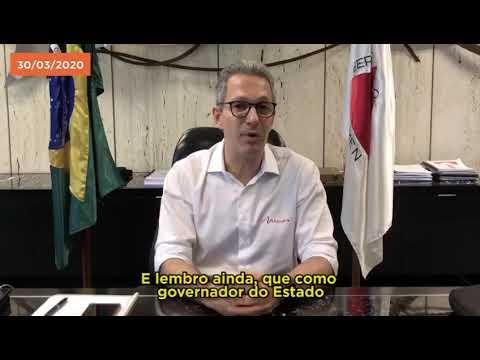 Romeu Zema diz que decisão do que abre e fecha no comércio é das prefeituras