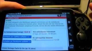[Tutorial] Wipeout 2048 gratis + Vodafone SIM-Karte einrichten -- (Vita Videoreihe Part 8/9)