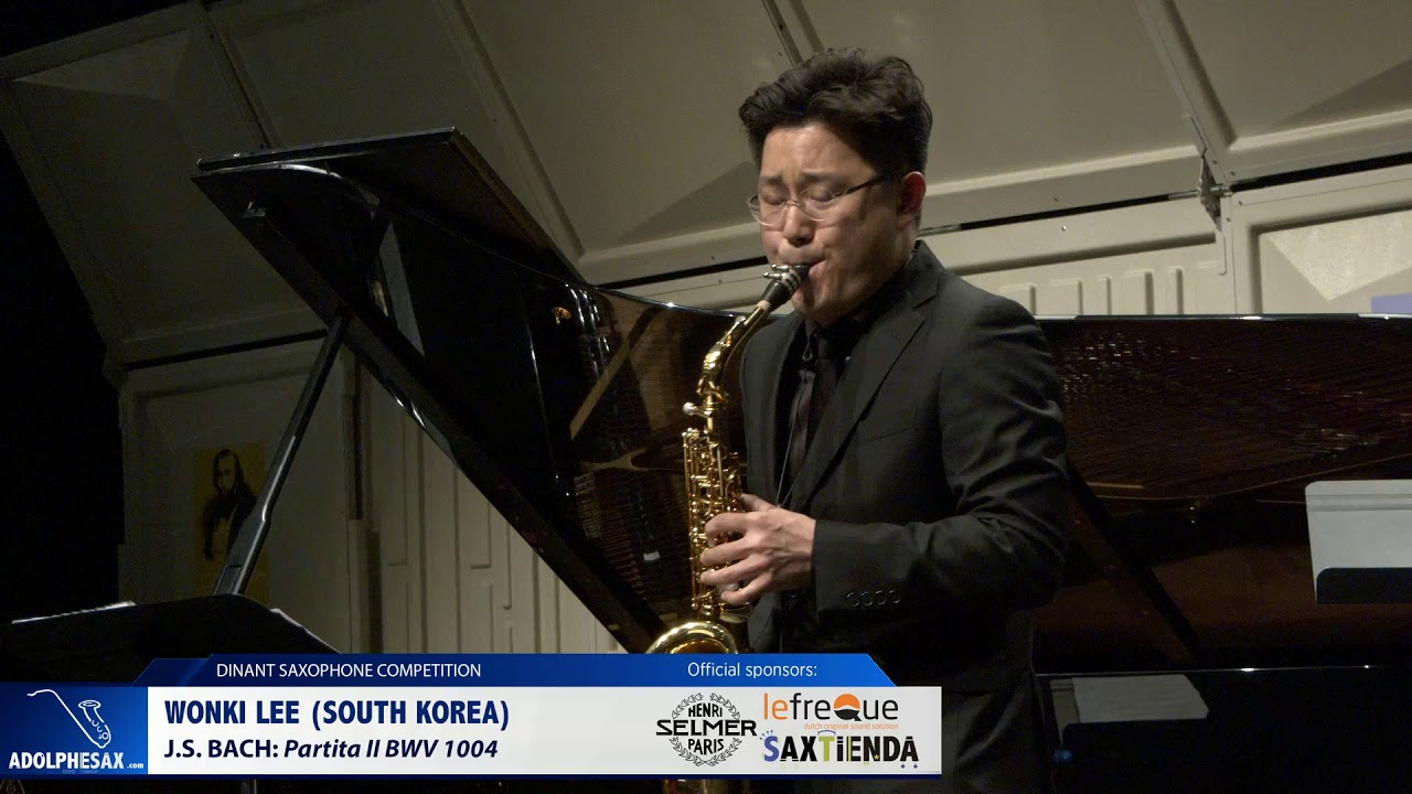 Wonki Lee South (Korea) - Partita II by J.S.Bach (Dinant 2019)