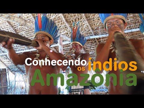 Conhecendo os índios na Amazônia