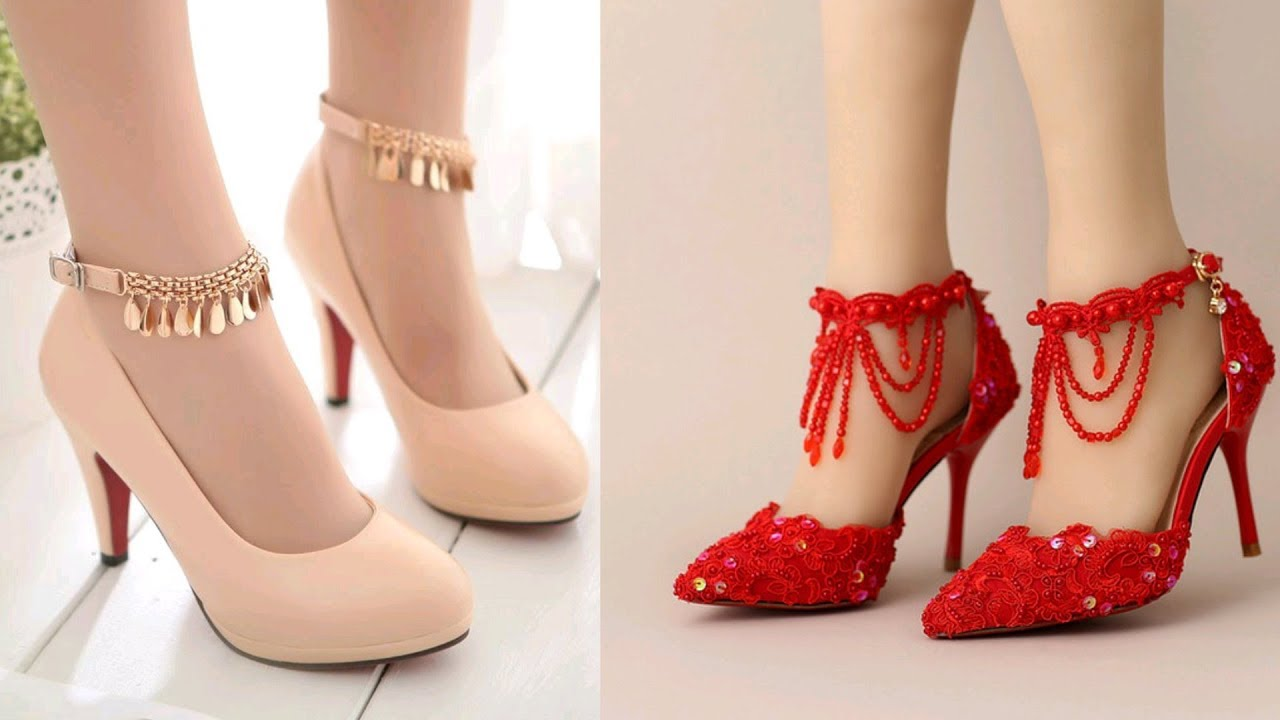 Latest Bridal Wedding Party Footwear Designs Fancy Sandals For