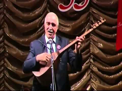 Asiq Nureddin Eminov Akif Semedin 55 illik yubileyi