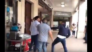 Full Video - Junaid Safdar Fight in Avenfield - Arrested
