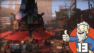 """DIAMOND CITY AT LAST!!!"" Fallout 4 Part 13 - 1080p HD PC Gameplay Walkthrough"