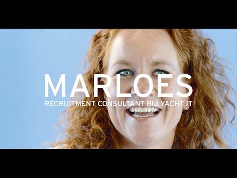 Yacht: welkom in ons netwerk, Marloes, recruitment consultant bij Yacht IT