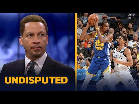 Knicks, Nets or Warriors? Chris Broussard discusses where Kevin Durant should go | NBA | UNDISPUTED