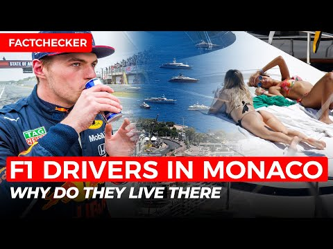 THIS is why FORMULA-1 drivers live in MONACO | FactChecker #1