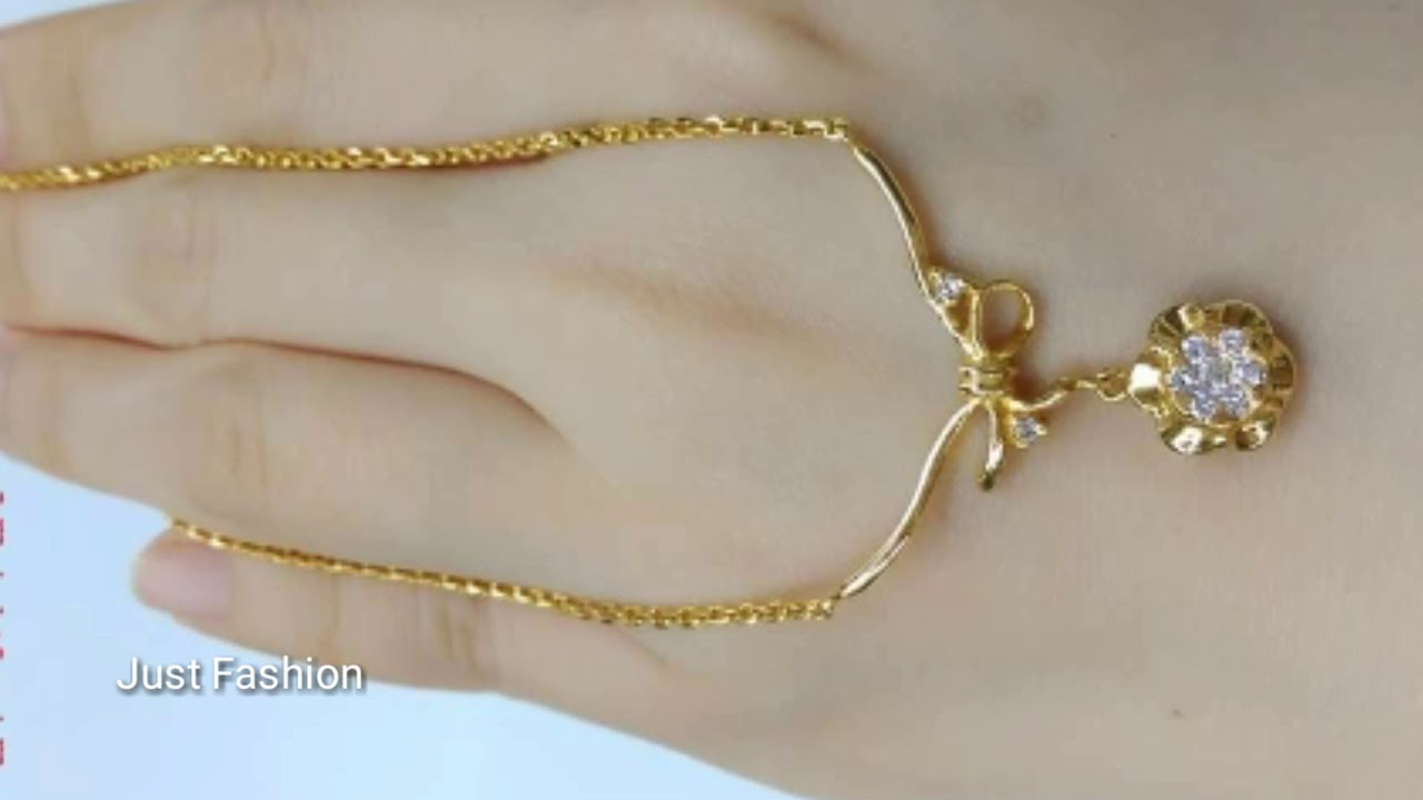 Latest Designer Gold Necklace Korean