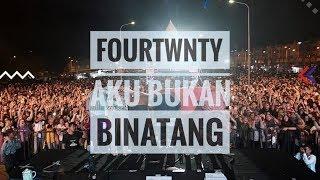 [HD] FOURTWNTY - AKU BUKAN BINATANG | Live From Authenticity Fest - Palembang 2018