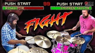 TINY KIT VS. BIG KIT DRUM BATTLE   Stephen Taylor + rdavidr Collab