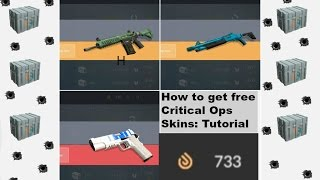 How to Get Free Skins for Critical Ops w/ Mini Case Opening