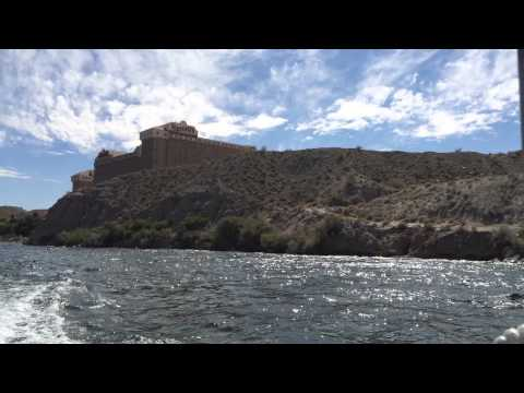Boasting in Laughlin Nevada!! Water taxi!