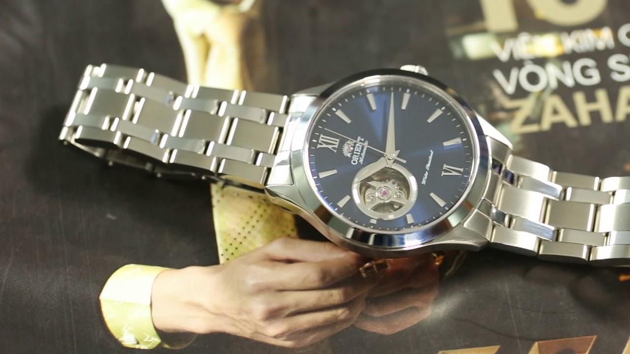 Kết quả hình ảnh cho Chiếc đồng hồ Orient Golden Eye II FAG03001D