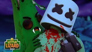 ZOMBIE PEELY BITES MARSHMELLO??? - Fortnite Short Films