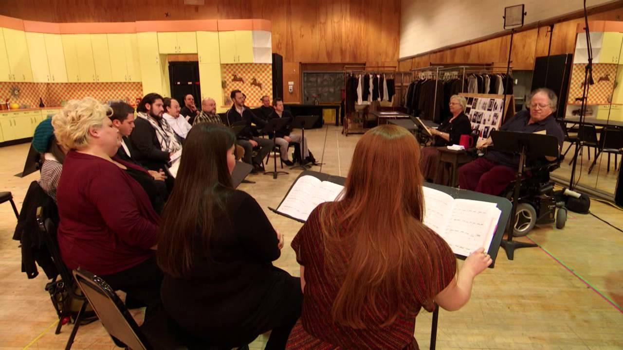James Levine Rehearses Falstaff (Met Opera)