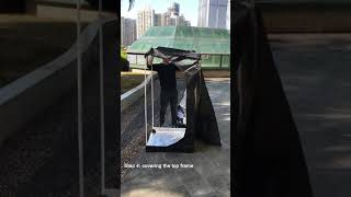 How to install 80x80x160cm Grow Tent