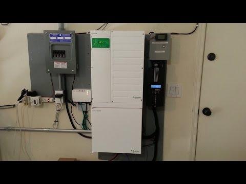 2.5kw Solar Array Hybrid system w/ Conext XW+ 6848 and Midnite Classic 150