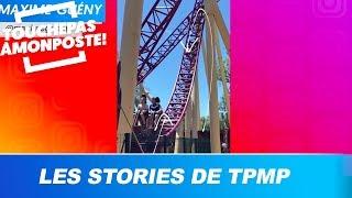 Maxime Gueny dans un parc d'attraction, le live de Soprano vu par Mokhtar