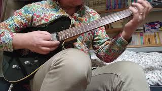 ツェッペリン大好きな60過ぎのおっさんです。 ギターは、フェルナンデス のテレキャスターモデルです。