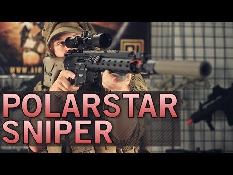 Custom Polar Star Sniper Rifle Built for Operation Irene - Josh's Loadout - Airsoft GI