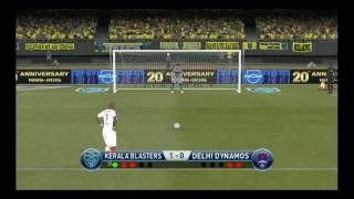 KERALA BLASTERS VS DELHI DYNAMOS...PENALTY SHOOT OUT.. MUST WATCH
