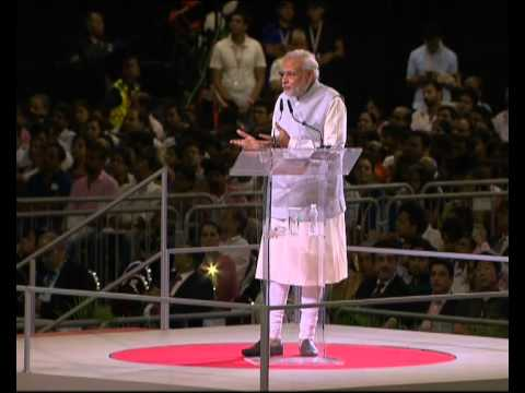 PM Modi's speech at the Indian Community reception at Singapore