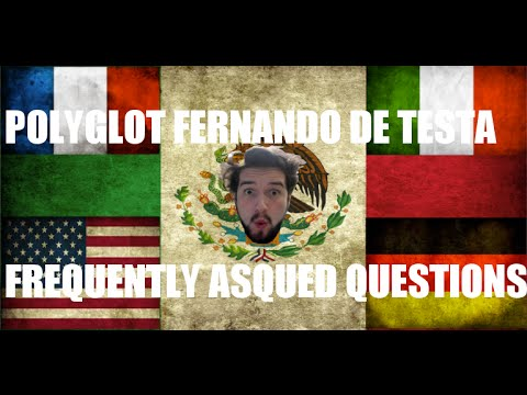 GreenPass Interview - Polyglot Fernando de Testa FAQs